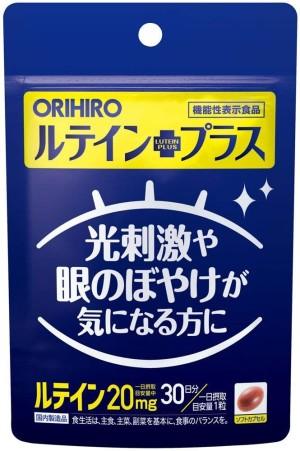 Комплекс для здоровья глаз с лютеином Orihiro Lutein