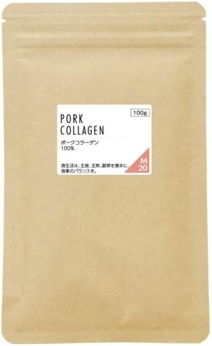 Низкомолекулярный свиной коллаген Nichie Pork Collagen Low Molecular Weight 100% Powder