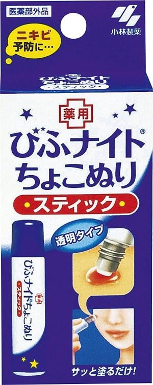 Мазь для профилактики и лечения акне Kobayashi Pharmaceutical Hiba Knight Chiko Coloring