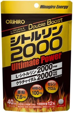 Энергетический комплекс ORIHIRO Citrulline 2000 Ultimate Power