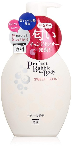 Увлажняющий гель для душа Shiseido Senka Perfect Bubble For Body Sweet Floral