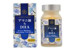 Комплекс с льняным маслом и рыбьим жиром Омега-3 Linseed Oil & DHA 120