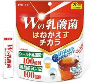 Быстрорастворимый напиток с молочнокислыми бактериями ITOH W The Power Of Lactic Acid Bacteria