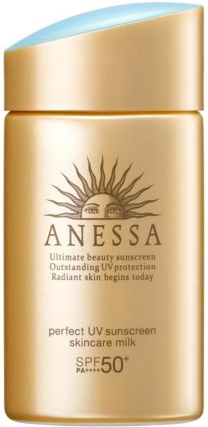 Солнцезащитное молочко для кожи лица и тела Shiseido Anessa Perfect UV Skin Care Milk SPF 50+/PA++++