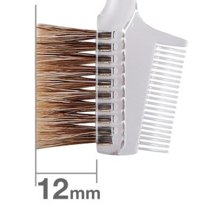 Кисть для бровей HAKUHODO Brow Comb Brush Transparent S195