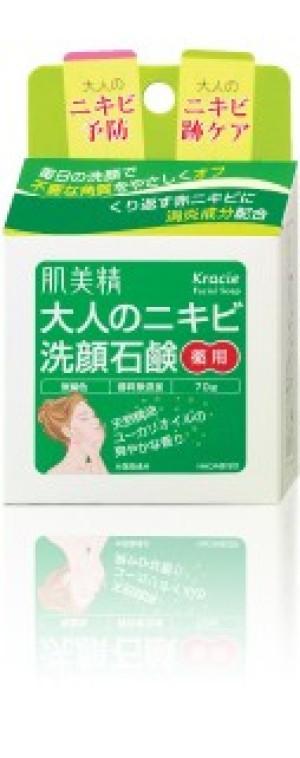 Лечебное мыло Kracie для умывания против акне у взрослых