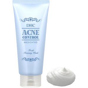 Пенка для умывания от акне DHC Medicated Acne Control Moisture Forming Wash