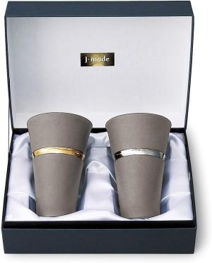 Подарочный набор керамических бокалов Marusan Kondo J-mode Ring Pair Cup