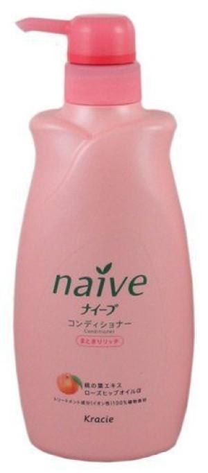Питательный кондиционер для волос Kracie Naive Conditioner Rich