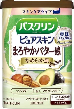 Соль для ванн с маслом ши и авокадо с подтягивающим эффектом Bathclin Pure Skin Shi & Avocado