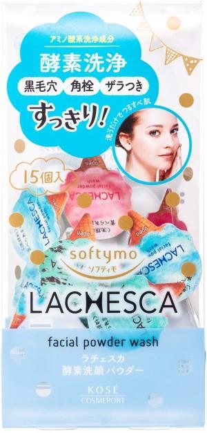 Очищающая пудра для лица с ферментами Kose Softymo Lachesca Powder Wash