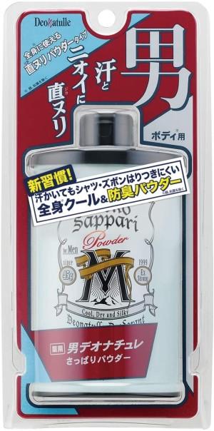 Мужской дезодорирующий порошок для тела Deonatulle Otoko Sappari Powder M