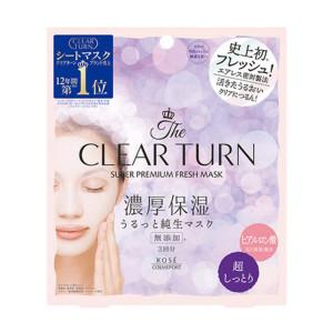 Супер-увлажняющая маска Kose Clear Turn Premium Fresh Mask Super Moist