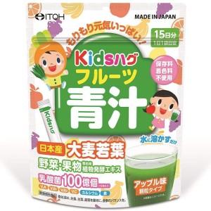 Витаминный напиток для детей с фруктовым вкусом ITOH Kids Fruit Green Juice