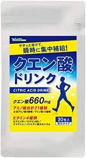 Диетический напиток для повышения эффективности тренировок SeedComs Citric Acid Drink