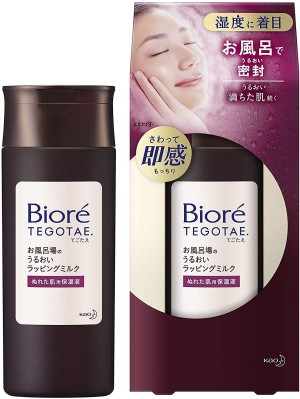Молочко для интенсивного увлажнения кожи KAO Biore TEGOTAE Bath Moist Wrapping Milk