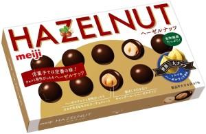 Шоколад с лесным орехом Meiji Hazelnut Chocolate