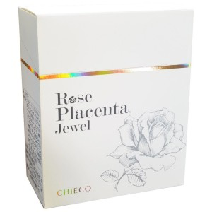 Экстракт плаценты розы GINZA TOMATO Rose Placenta Jewel