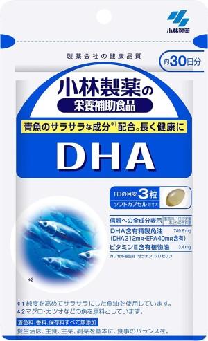 DHA-содержащий рыбий жир Kobayashi Pharmaceutical DHA