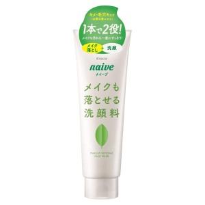 Успокаивающая пенка для умывания с зеленым чаем Kracie Naive Makeup Cleansing Foam Green Tea
