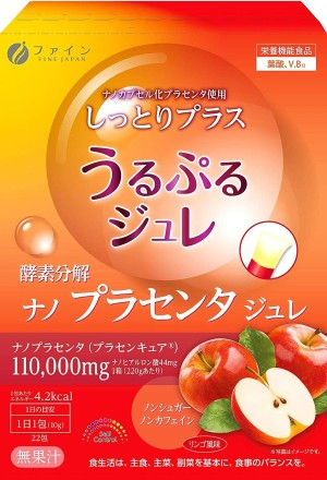 Желе с экстрактом плаценты FINE JAPAN Placenta Jelly