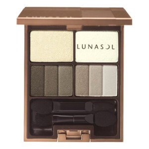 Тени для век Lunasol FEATHERY SMOKY EYES