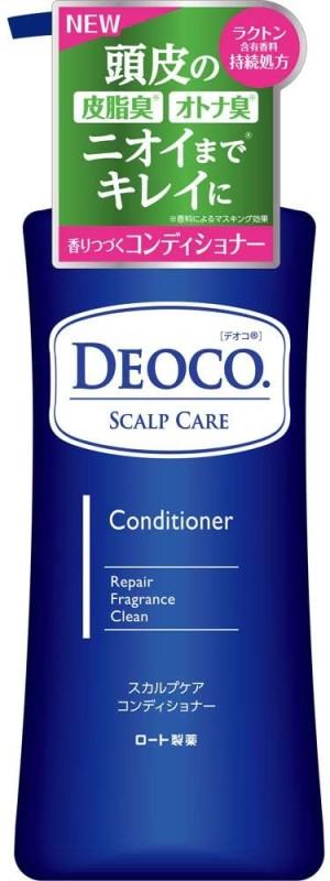 Кондиционер против возрастного запаха Rohto DEOCO Scalp Care Conditioner Sweet Floral