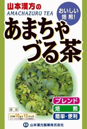 Чай с гиностеммой для снижения холестерина Yamamoto Kanpo Amachazuru Tea