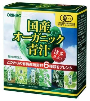 Органический зелёный сок Аодзиру Orihiro