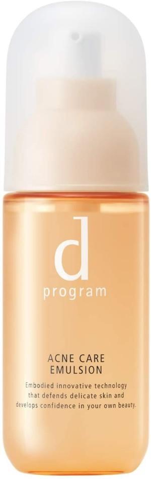 Эмульсия для чувствительной кожи Shiseido D-Program Acne Care Emulsion и склонной к акне