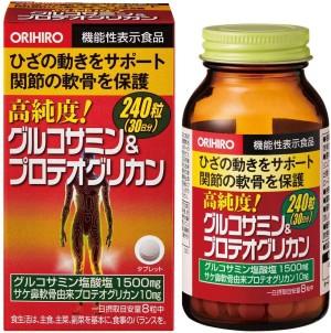 Комплекс с глюкозамином и протеогликанами для опорно-двигательного аппарата Orihiro High Purity Glucosamine & Proteoglycan