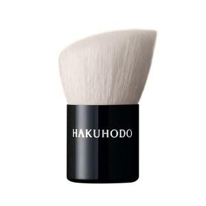 Кисть для пудры Hakuhodo Kinoko Brush BkA Rd&Agld