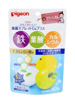 Жевательные таблетки с фолиевой кислотой и витаминами для мам Pigeon