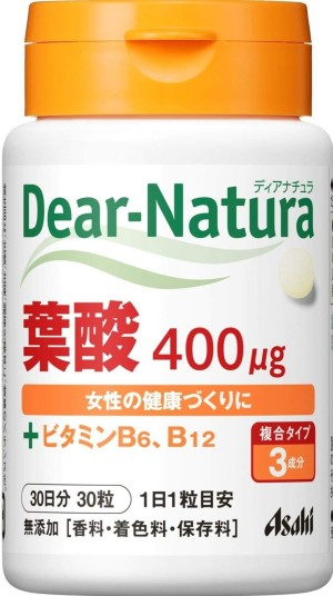 Фолиевая кислота ASAHI Dear - Natura Folic Acid