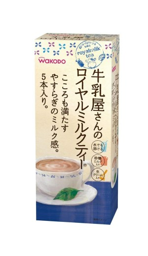 Быстрорастворимый черный чай с молоком Milkman's Royal Milk Tea