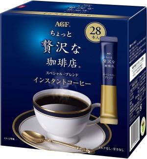 Премиальный растворимый кофе AGF Little Luxury Coffee Shop PREMIUM SELECT