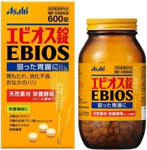 Пивные дрожжи Asahi Ebios