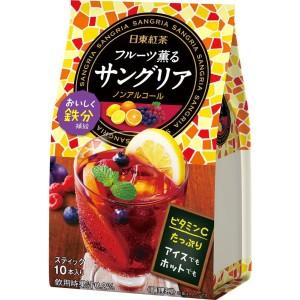 """Быстрорастворимый фруктовый чай """"Сангрия"""" Nitto Black Tea Fruit Sangria Stick"""