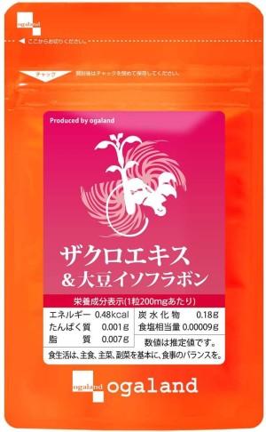 Экстракт граната и изофлавоны сои для женского здоровья Ogaland Pomegranate Extract & Soy Isoflavones