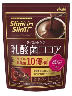 Протеиновый какао-напиток с молочнокислыми бактериями Asahi SlimUpSlim Protein Cocoa Drink