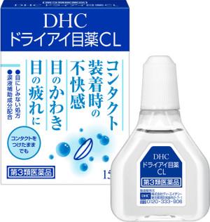 Мягкие увлажняющие глазные капли DHC Dry Eye Drops CL