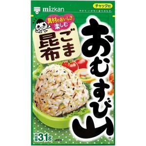 Натуральная приправа к рису Mizkan Omusubiyama с кунжутом