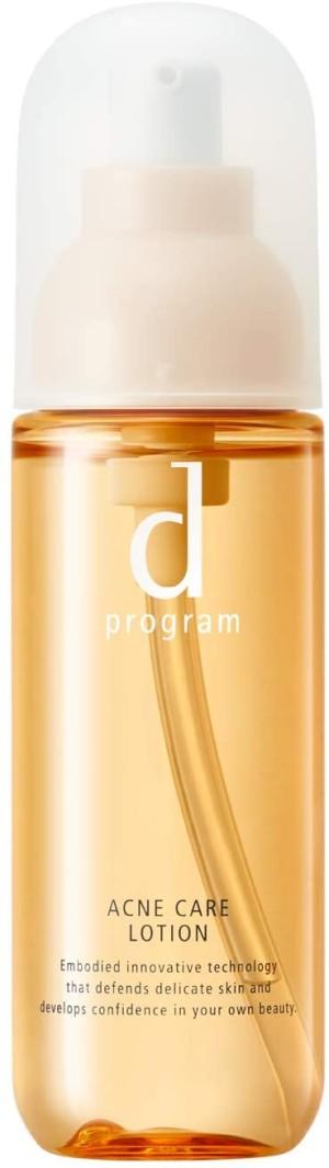 Лосьон для лица Shiseido D-Program Acne Care Lotion для сухой, чувствительной и воспаленной кожи