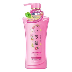 Шампунь для объема волос Kracie Ichikami Hair Fluffy Volume Care Shampoo