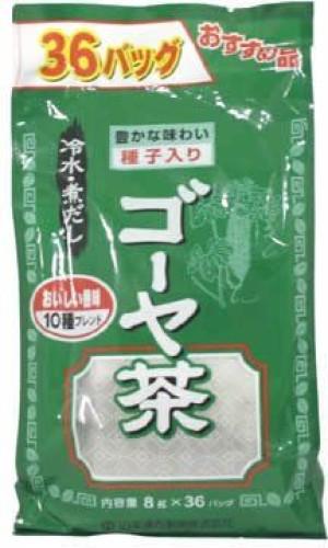 Чай улун с горькой тыквой и шелковицей Yamamoto Kanpo Goya Tea
