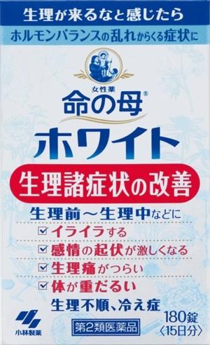 Комплекс для гормонального баланса у женщин KOBAYASHI Мать жизни Inochi no Haha White на 15 дней