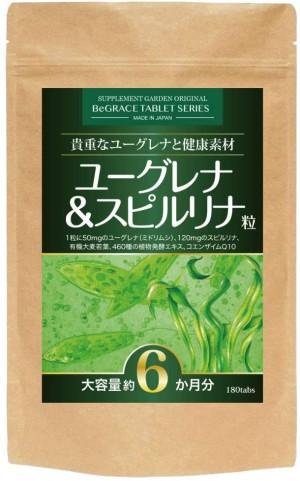 Натуральный комплекс для похудения Supplement Garden Euglena & Spirulina