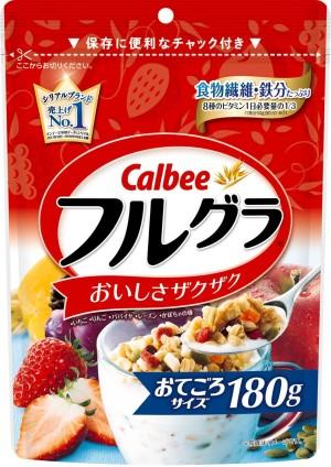 Гранола Calbee с фруктами и орехами