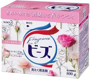 Стиральный порошок с цветочным ароматом KAO Fragrance New Beads Detergent Powder