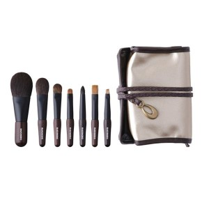 Набор из 7 кистей HAKUHODO Portable Kokutan Mini Brush Set